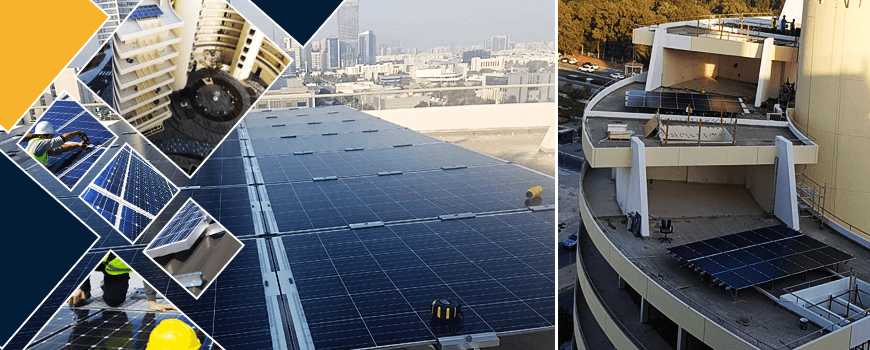 Solar PV Solution Rooftop for ADNOC Old HQ Building